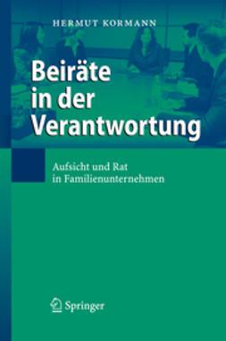 Kormann, Hermut - Beiräte in der Verantwortung, e-kirja
