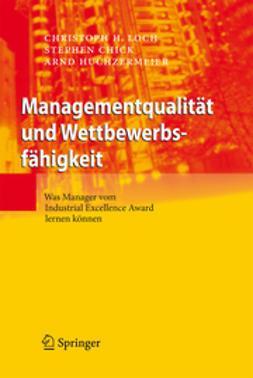 Chick, Stephen - Managementqualität und Wettbewerbsfähigkeit, ebook