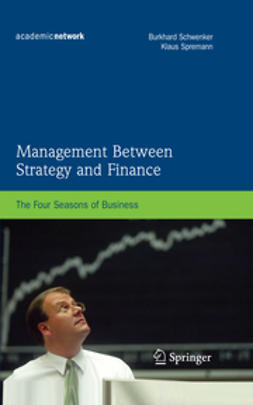 Schwenker, Burkhard - Management Between Strategy and Finance, ebook