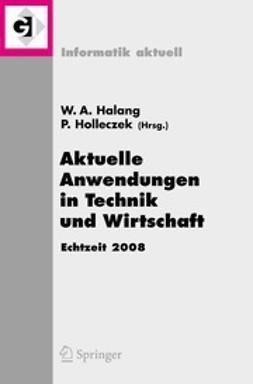 Halang, Wolfgang A. - Aktuelle Anwendungen in Technik und Wirtschaft, ebook