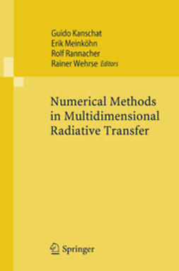 Kanschat, Guido - Numerical Methods in Multidimensional Radiative Transfer, ebook