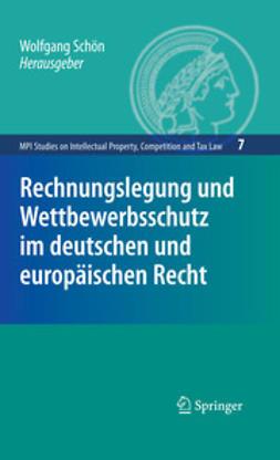 Schön, Wolfgang - Rechnungslegung und Wettbewerbsschutz im deutschen und europäischen Recht, ebook