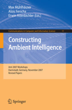 Mühlhäuser, Max - Constructing Ambient Intelligence, ebook