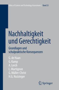 Haan, Gerhard de - Nachhaltigkeit und Gerechtigkeit, ebook