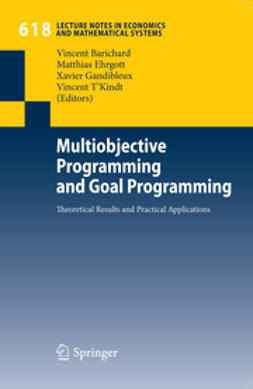 Barichard, Vincent - Multiobjective Programming and Goal Programming, ebook