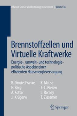Berg, Holger - Brennstoffzellen und Virtuelle Kraftwerke, ebook