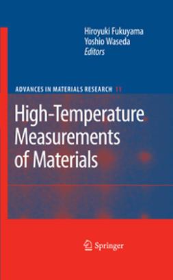 Fukuyama, Hiroyuki - High-Temperature Measurements of Materials, ebook