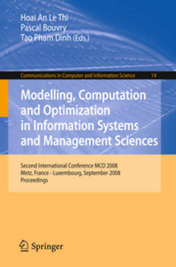 Bouvry, Pascal - Modelling, Computation and Optimization in Information Systems and Management Sciences, ebook