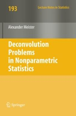 Meister, Alexander - Deconvolution Problems in Nonparametric Statistics, ebook