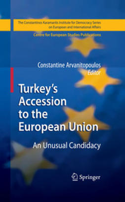 Arvanitopoulos, Constantine - Turkey's Accession to the European Union, e-bok