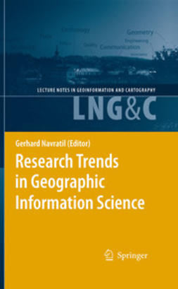 Navratil, Gerhard - Research Trends in Geographic Information Science, ebook
