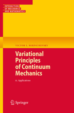 Berdichevsky, Victor - Variational Principles of Continuum Mechanics, ebook