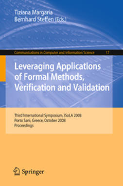 Margaria, Tiziana - Leveraging Applications of Formal Methods, Verification and Validation, ebook