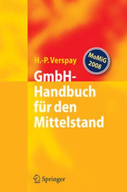 Verspay, Heinz-Peter - GmbH-Handbuch für den Mittelstand, ebook