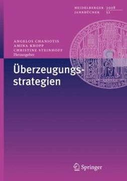Chaniotis, Angelos - Überzeugungsstrategien, ebook
