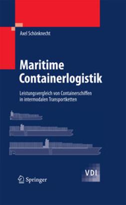 Schönknecht, Axel - Maritime Containerlogistik, ebook