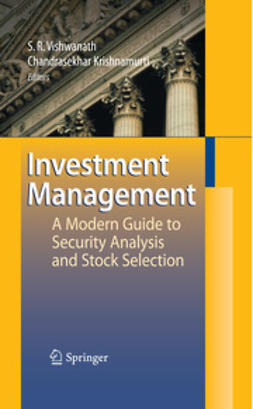 Krishnamurti, Chandrasekhar - Investment Management, ebook