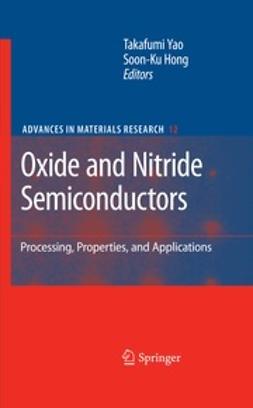 Yao, Takafumi - Oxide and Nitride Semiconductors, e-bok