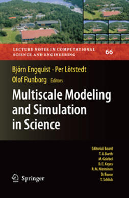 Engquist, Björn - Multiscale Modeling and Simulation in Science, ebook