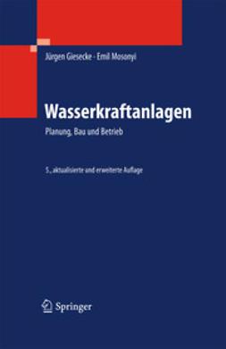 Giesecke, Jürgen - Wasserkraftanlagen, ebook