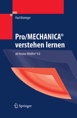 Kloninger, Paul - Pro/MECHANICA® verstehen lernen, ebook