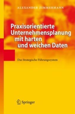 Zimmermann, Alexander - Praxisorientierte Unternehmensplanung mit harten und weichen Daten, ebook