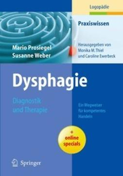 Prosiegel, Mario - Dysphagie, ebook