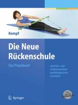 Kempf, Hans-Dieter - Die Neue Rückenschule, ebook