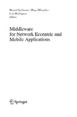 Garbinato, Benoît - Middleware for Network Eccentric and Mobile Applications, ebook