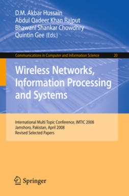 Chowdhry, Bhawani Shankar - Wireless Networks, Information Processing and Systems, e-kirja