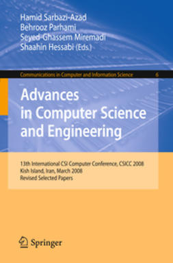 Hessabi, Shaahin - Advances in Computer Science and Engineering, e-bok