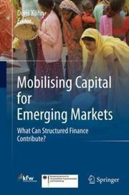 Köhn, Doris - Mobilising Capital for Emerging Markets, ebook