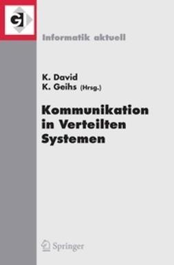 David, Klaus - Kommunikation in Verteilten Systemen (KiVS), ebook