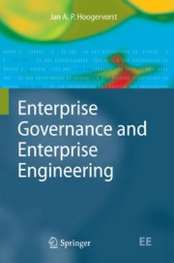 Hoogervorst, Jan A. P. - Enterprise Governance and Enterprise Engineering, ebook