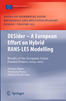 Haase, Werner - DESider – A European Effort on Hybrid RANS-LES Modelling, ebook