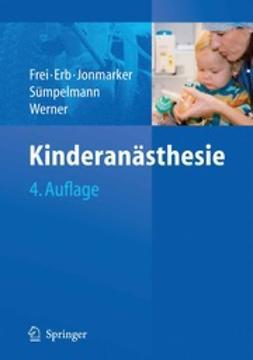 Frei, Franz J. - Kinderanästhesie, ebook