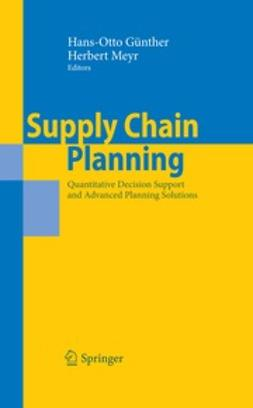 Meyr, Herbert - Supply Chain Planning, ebook