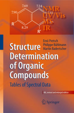 Badertscher, Martin - Structure Determination of Organic Compounds, ebook