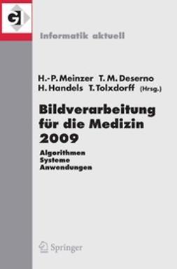 Meinzer, Hans-Peter - Bildverarbeitung für die Medizin 2009, ebook