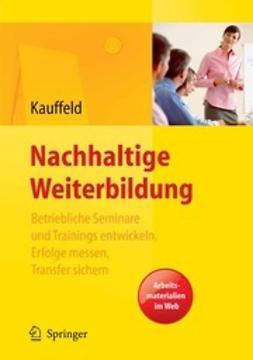 Kauffeld, Simone - Nachhaltige Weiterbildung, ebook