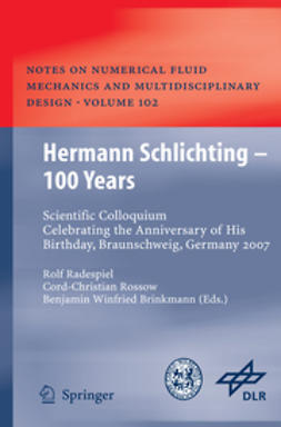 Radespiel, Rolf - Hermann Schlichting – 100 Years, ebook