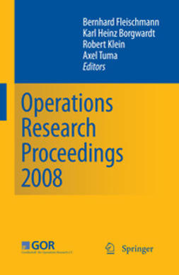 Fleischmann, Bernhard - Operations Research Proceedings 2008, ebook