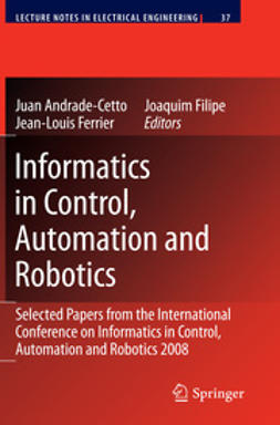 Cetto, Juan Andrade - Informatics in Control, Automation and Robotics, ebook
