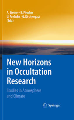Steiner, Andrea - New Horizons in Occultation Research, ebook