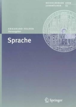 Felder, Ekkehard - Sprache, ebook