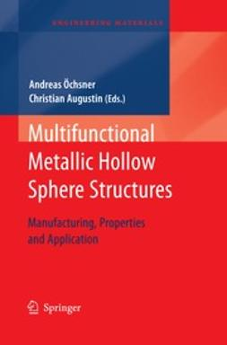 Öechsner, Andreas - Multifunctional Metallic Hollow Sphere Structures, ebook