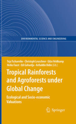 Tscharntke, Teja - Tropical Rainforests and Agroforests under Global Change, ebook