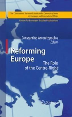 Arvanitopoulos, Constantine - Reforming Europe, e-bok