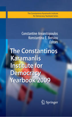 Arvanitopoulos, Constantine - The Constantinos Karamanlis Institute for Democracy Yearbook 2009, e-bok