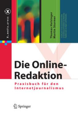 Holzinger, Thomas - Die Online-Redaktion, e-kirja